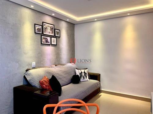 Apartamento Com 2 Dormitórios À Venda, 42 M² Por R$ 202.000,00 - Passo Das Pedras - Gravataí/rs - Ap0811