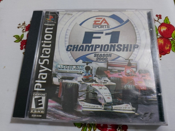 F1 Championship Season 2000 Patch Prensado Playstation Ps1