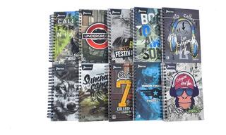 Cuaderno Grande Durabook 7 Materias Cuadriculado Masculino