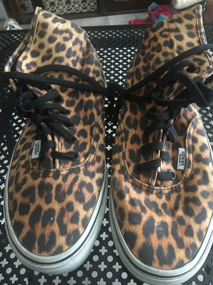 Zapatillas Botitas Vans Animal Print