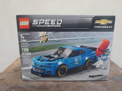 Lego Camaro Zl1, Speed Champions 75891, 198 Pzs, Ref. 25