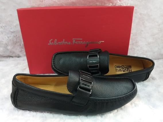 Zapatos De Cuero Salvatore Ferragamo Louis Vuitton Gucci