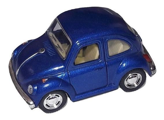 Miniatura Carros Nacionais Mini Fusca Estilizado Metal 9 Cm