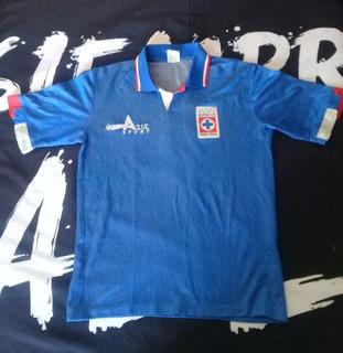 Jersey Cruz Azul 1992-1993 Azul Sport #8 Chepo De La Torre