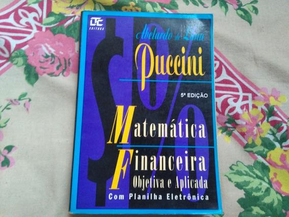 Livro Matemática Financeira Objetiva E Aplicada 5ª Edição