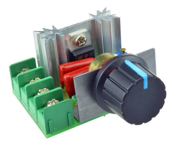Dimmer Controlador Velocidade P/ Motor 2000w 50-220v 25a Pwm