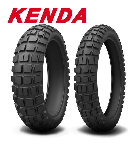 Combo Pneu De Moto Kenda Big Block 110/80-19 + 150/70-17