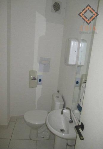 Conjunto Para Alugar, 187 M² Por R$ 8.433,00/mês - Brooklin - São Paulo/sp - Cj20006