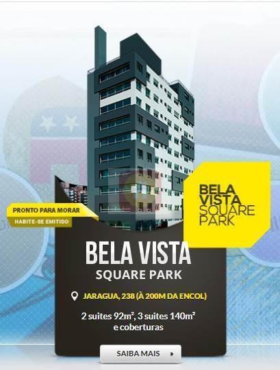 Apartamento À Venda No Bairro Bela Vista Em Porto Alegre/rs - Squarepark-1102