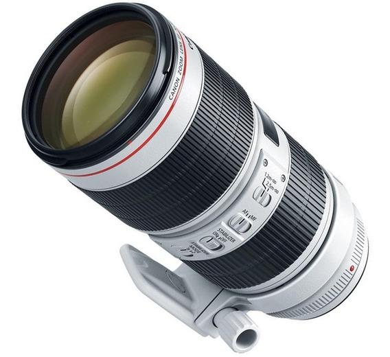 Lente Canon 70-200mm F2.8l Is Iii Usm C/ Nf-e Nova