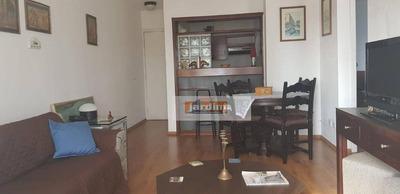 Flat Com 2 Dormitórios Para Alugar, 48 M² Por R$ 2.800/mês - Centro - São Bernardo Do Campo/sp - Fl0008