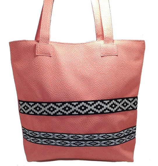Bolso Shopping Simil Cuero - Calzados Unio. Art 440