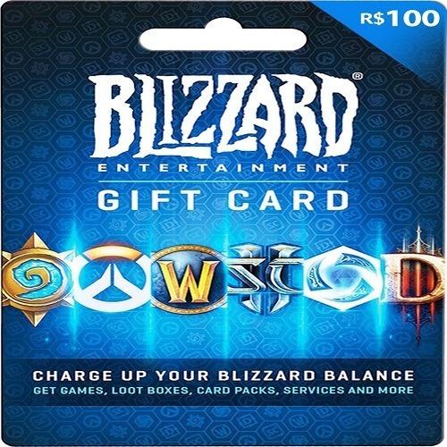 Gift Card Blizzard R$ 100 Reais - Envio Digital