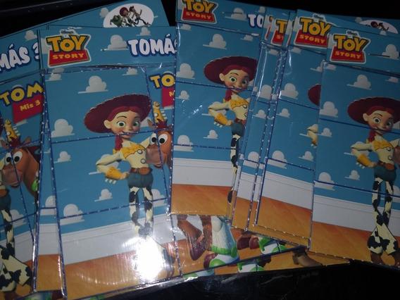 10 Rompecabezas Iman Toy Story Personalizados