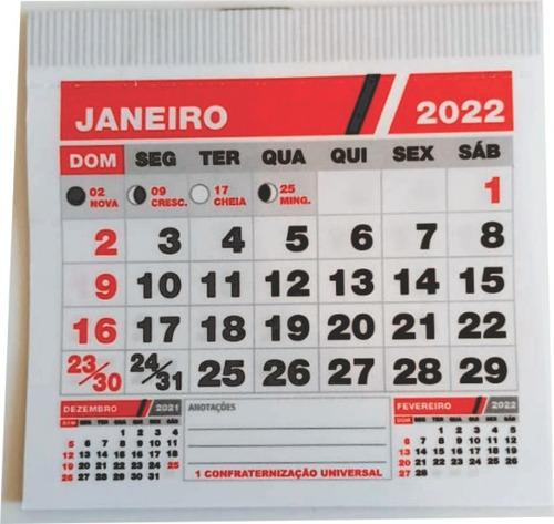 Imagem 1 de 4 de 1000 Folhinhas Mini Calendário Em Blocos - Para Postal 8x8cm