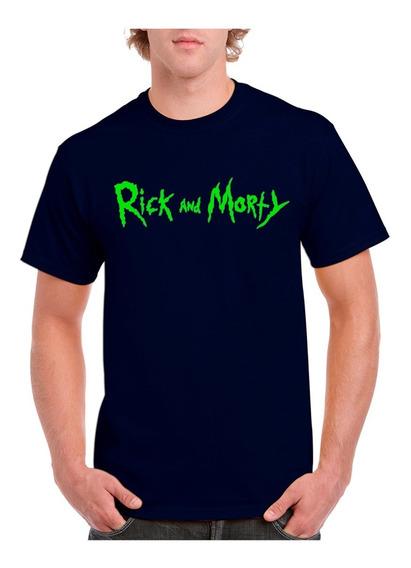 Playera Rick Y Morty Yazbek Algodon