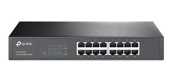 Tp-link Switch 16 Puertos Gigabit Tl-sg1016d Desktop