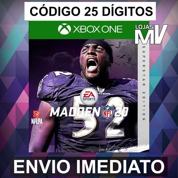 Madden Nfl 20 Superstar - Código 25 Digitos Xbox One