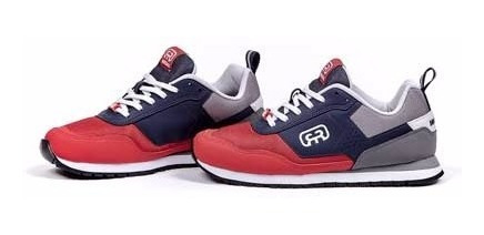 Tênis Hocks Nuv Skate Sneaker Vermelho Branco Azul Original