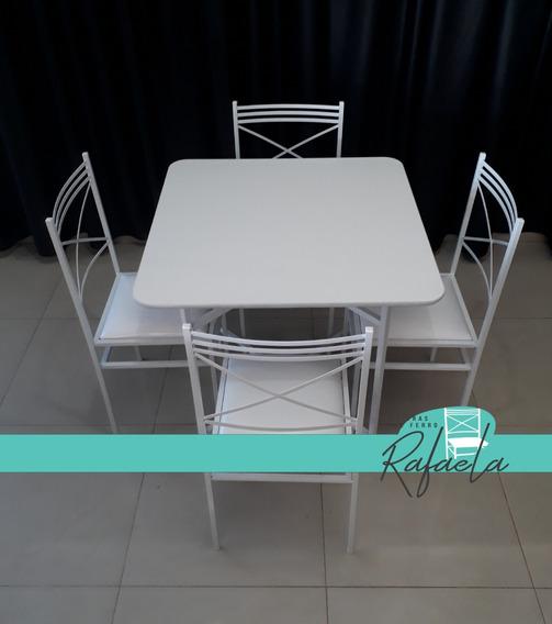 12 Jogos De Mesas C/ 4 Cadeiras De Ferro P/ Buffet