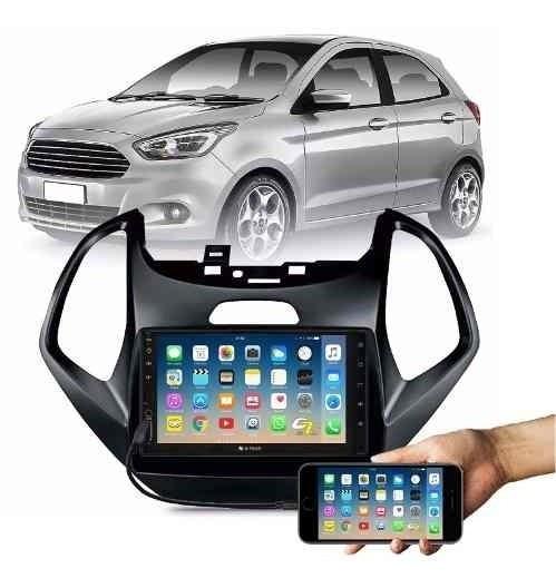 Multimídia Mp5 Mp3 Bluetooth Rádio Usb Ford Ka+ 2015 16 17