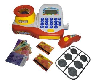 Caja Registradora De Juguete Con Accesorios