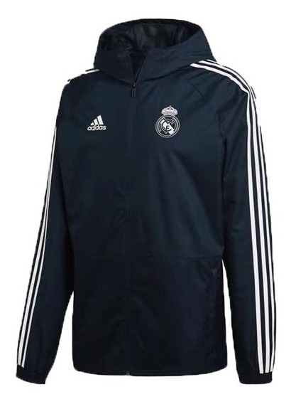 Jaqueta Corta Vento adidas Real Madrid Masculina