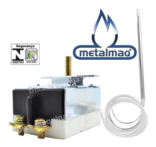 Termostato Regulador Bivolt Salamandra Elétrica Metalmaq