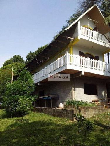 Imagem 1 de 21 de Chácara Com 2 Dormitórios À Venda, 3780 M² Por R$ 795.000,00 - Recanto Vital Brasil - Mauá/sp - Ch0042