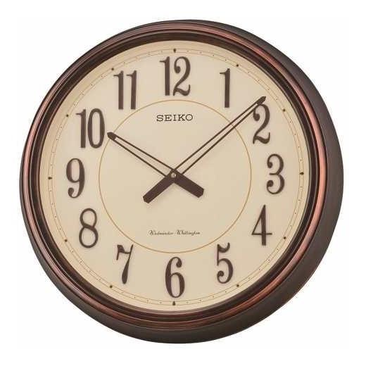 Reloj De Pared Seiko Con Melodía Qxd212b | Agente Oficial