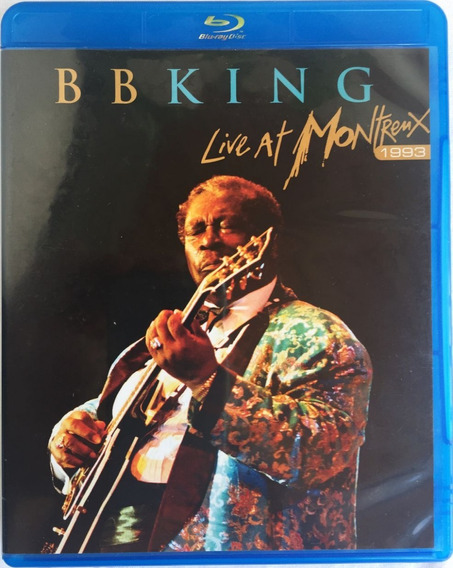 Blu-ray B.b.king Live In Montreux Frete Grátis