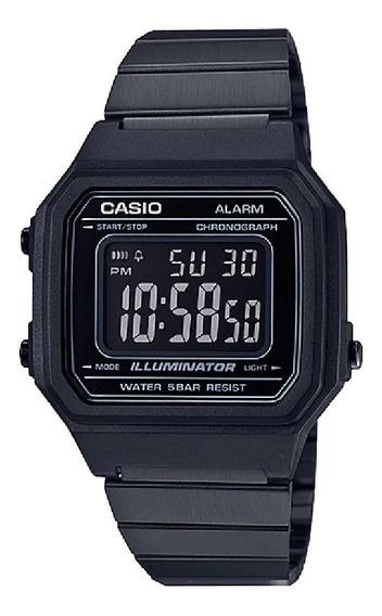 Relógio Unissex Casio B650wb-1bdf Preto Fosco Original