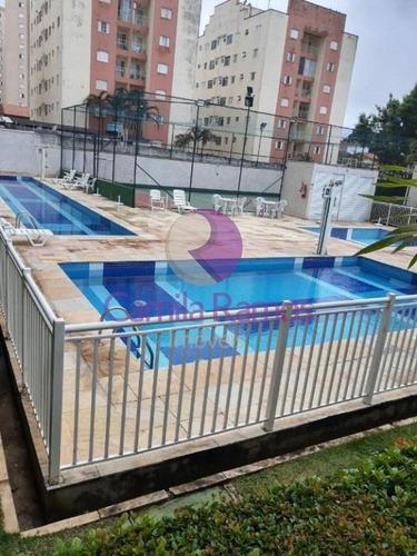 Imagem 1 de 23 de Apartamento Com 2 Dormitórios Para Venda E Ou Alugar, 65 M²  - Alto Ipiranga - Mogi Das Cruzes - Ap0743 - 68322412