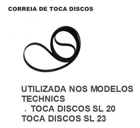 Correia Para Toca Discos Technics Sl-20 Sl-23