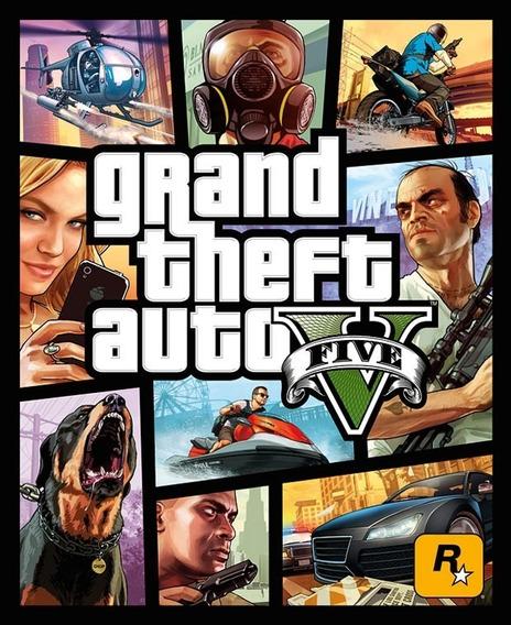 Grand Theft Auto V - Jogo Ps3