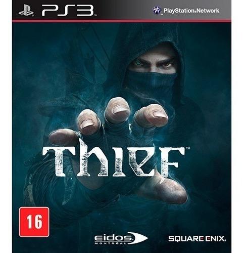 Jogo Thief Ps3 Mídia Física, Novo E Lacrado