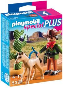 Vaquero Con Caballo Playmobil Pm5373