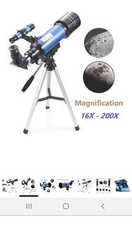 Telescopio Para Niños Y Principiantes. Leer Descripción.