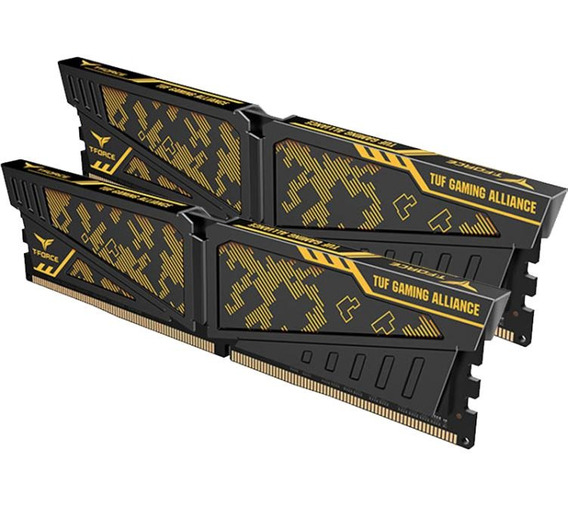 Memoria Team Ddr4 16gb 8gbx2 3600mhz Vulcan Tuf Gaming