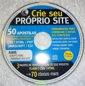 Cd-rom Digerati - Crie Seu Próprio Site