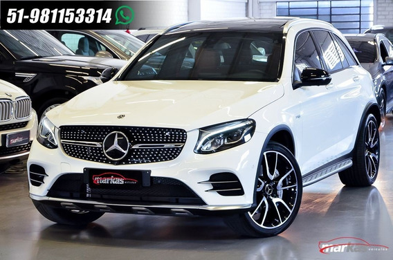 Mercedes-benz Classe Glc 43 Amg 367hp Teto 19 Mil 4x4