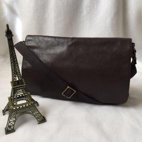 ace784b0c Bolsa Messenger Bag Masculina Marca Fossil - 100% Autentica