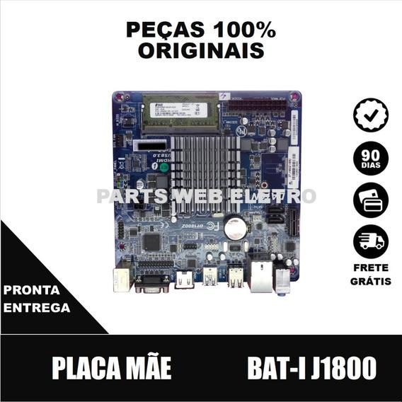 Placa Mãe Ecs Bat-i J1800 C/ Memória Ddr-2 2gb (cód.12167)