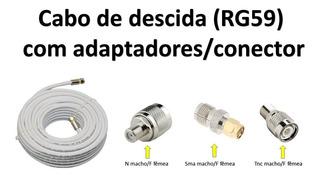 Cabo De Descida Para Antena Telefone Rural