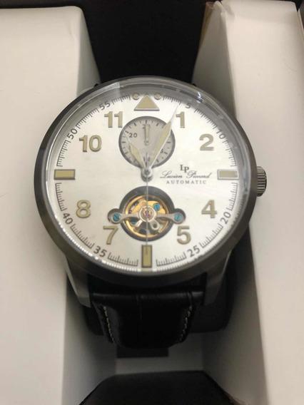 Hermoso Reloj Gmt Openheart Lucien Piccard