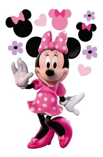 Imagen 1 de 7 de Mickey Mouse 9 Vinilo Decorativo, Calcomanía De Pared Minnie