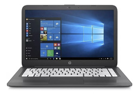 Notebook Hp Laptop Dual Core 4gb 64gb + W10+cartão Sd 32gb