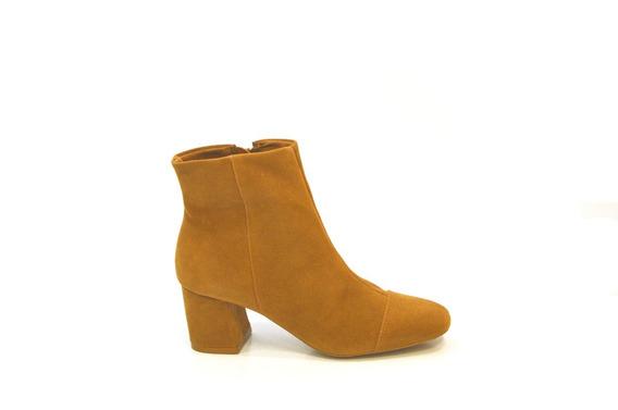 Bota Feminina Cano Baixo Moda Block Heels Salto Bloco R900