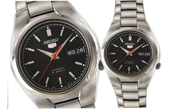 Relógio Automático Seiko Snk607 K1 Jewel Aço Inoxidável