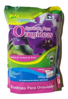 Sustrato Para Orquídeas, Mezcla De Corteza De Árbol 500 Grs